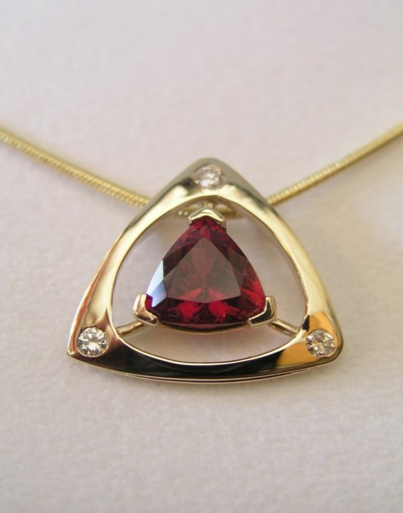 Lane Mitchell Jewelers, Vintage Custom Design Diamond